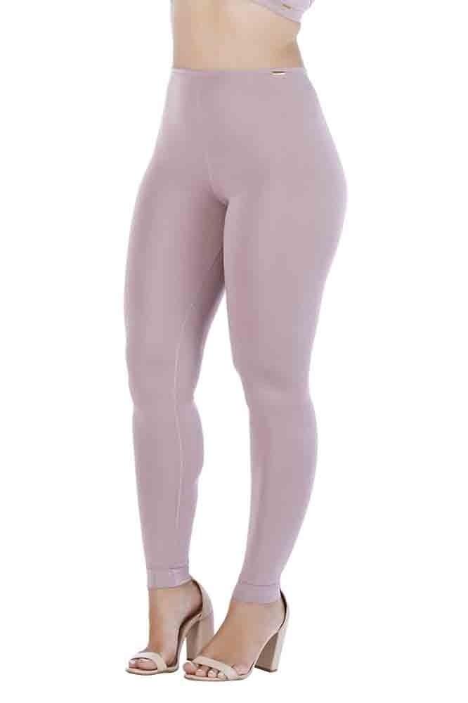 Calça Legging Rosa Retrô