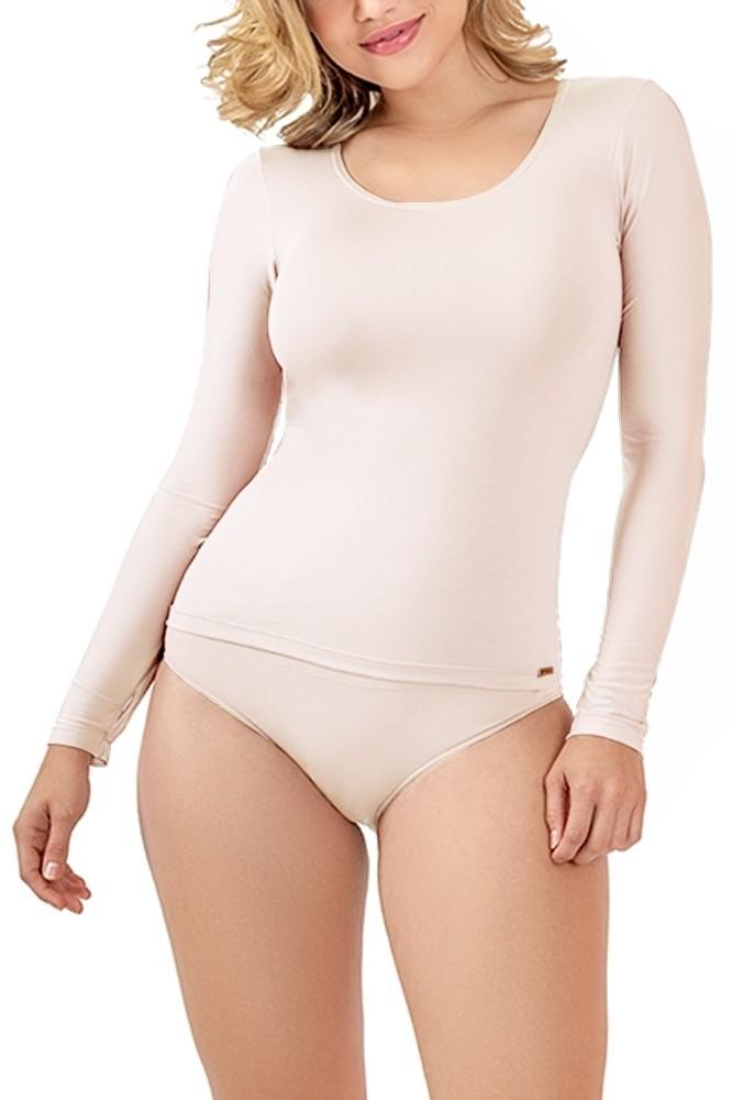 Camiseta Manga Longa Nude