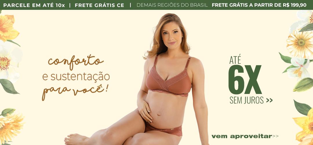 Lingerie ecológica para as mamães!